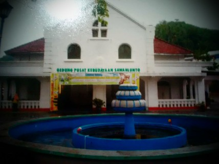 GPK Cultural Building, once the town hall of Sawahlunto